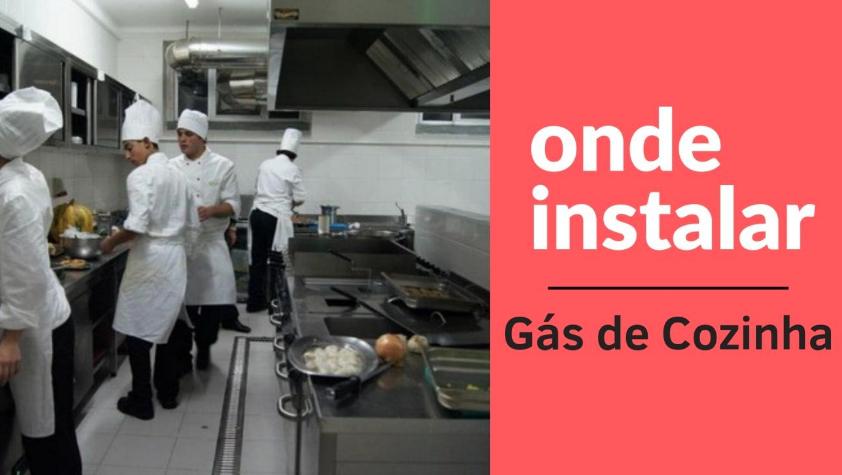 Como instalar gás de cozinha em hotel