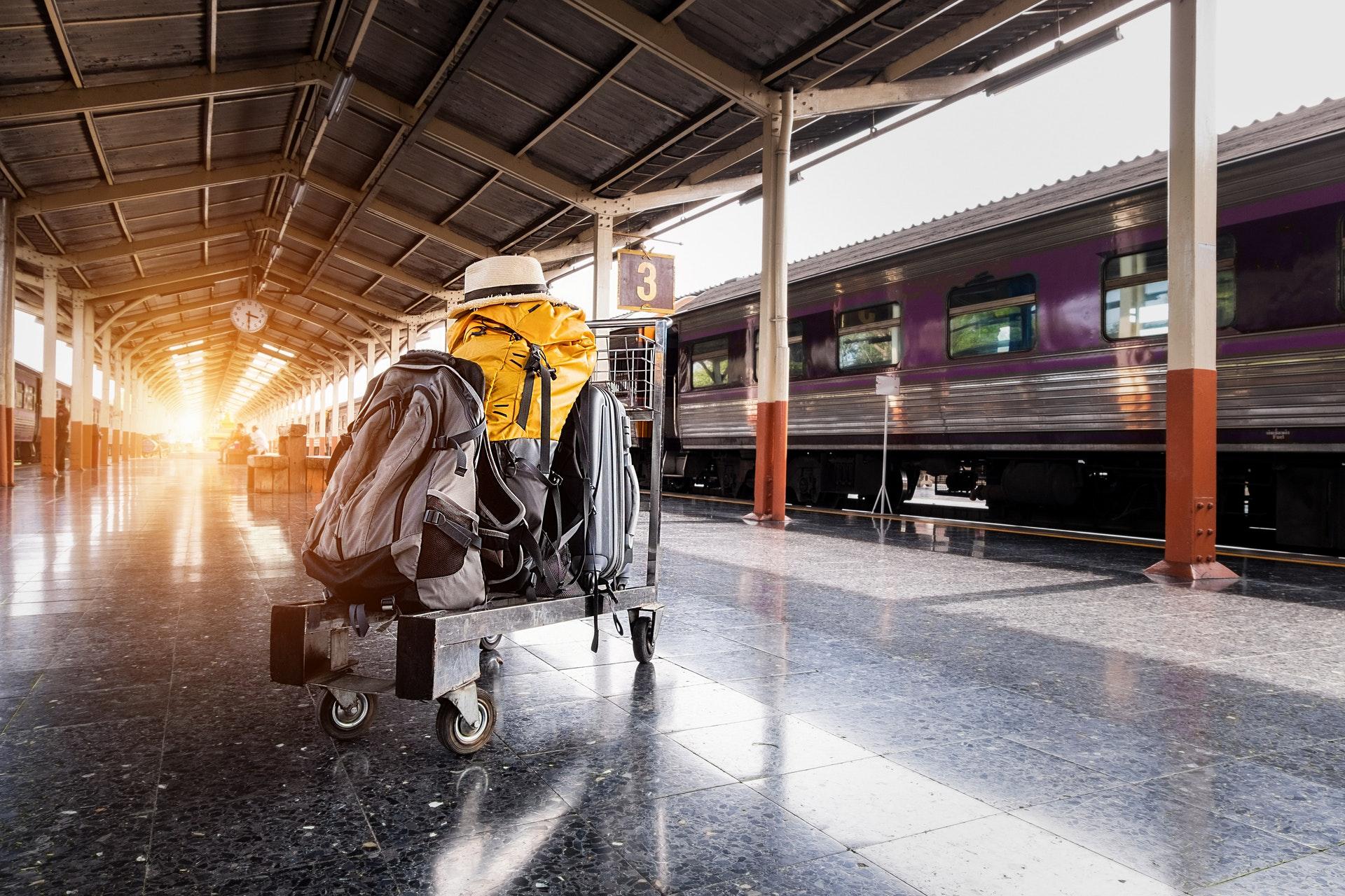 Está viajando? Como fazer uma conexão entre aeroportos com Malas?